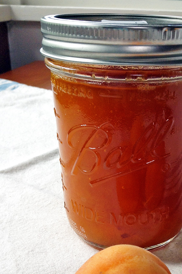 Apricot Jam is pretty easy to make and great to eat throughout the year. Or presents! | tiaskitchen.com