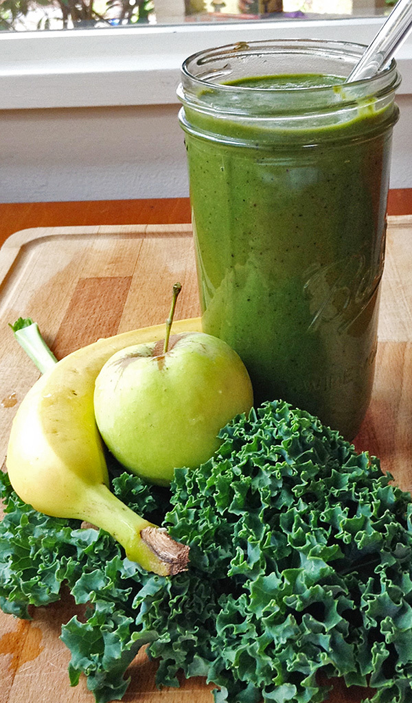 Green Smoothie All Blended | tiaskitchen.com