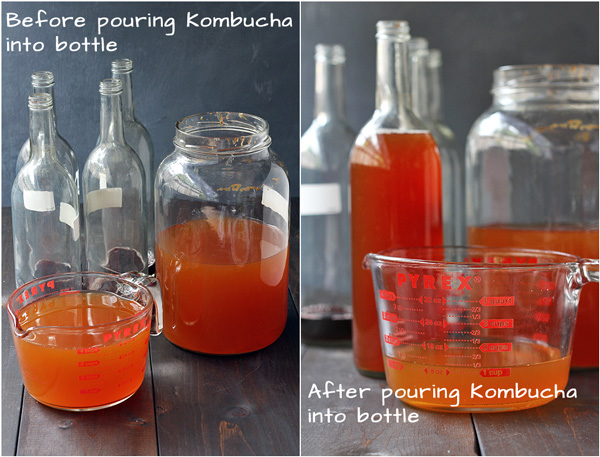 How to Make Kombucha Step 6 | http://tiaskitchen.com/make-kombucha-step-step