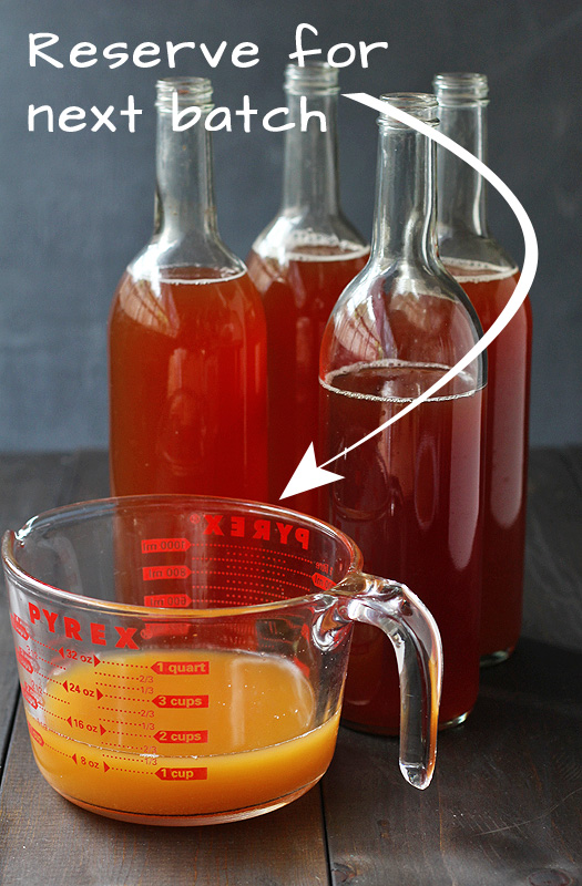 How to Make Kombucha Step 7 | http://tiaskitchen.com/make-kombucha-step-step