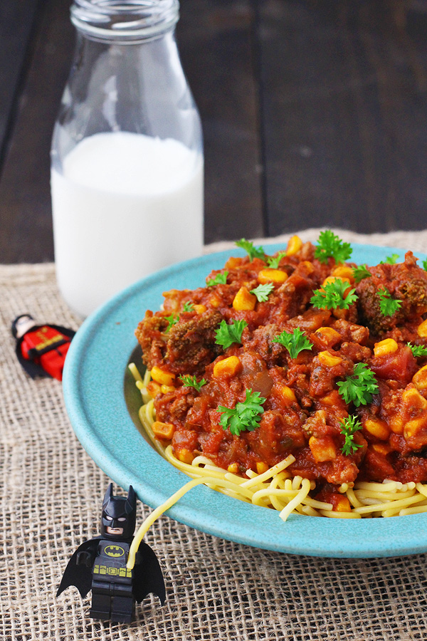 Easy Slow Cooker Spaghetti Sauce with Veggies – Kid Friendly