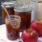 Great last minute gift! Easy and tasty Apple Jam with Cinnamon (Pectin Free) | tiaskitchen.com/apple-jam-cinnamon-pectin-free