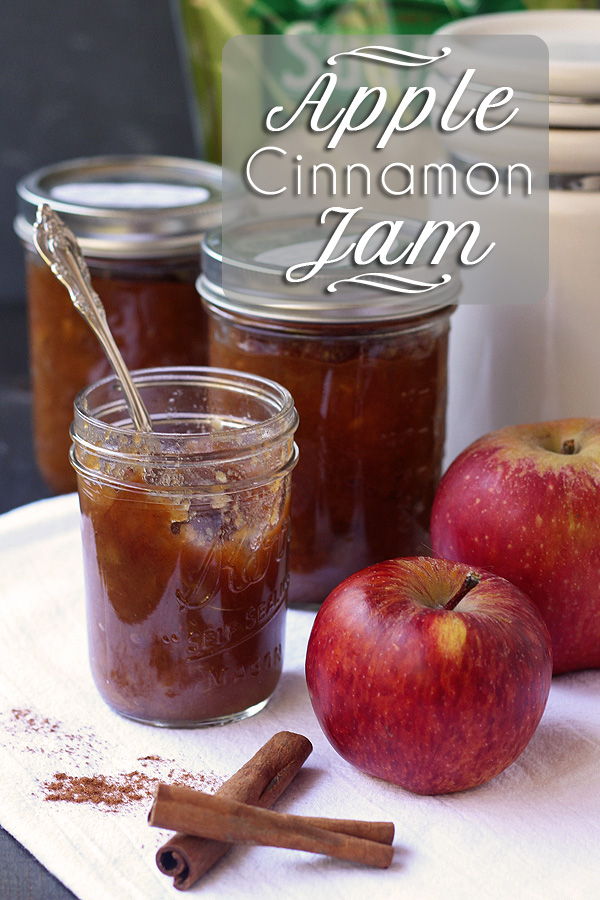 Apple Jam with Cinnamon – Pectin Free