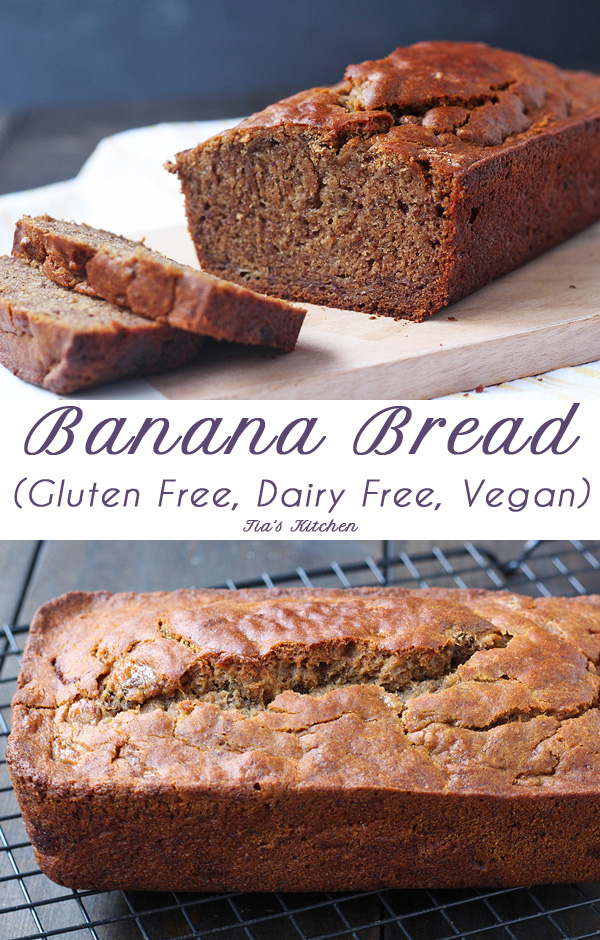 Super easy and super tasty Gluten Free Banana Bread. Dairy Free and ...