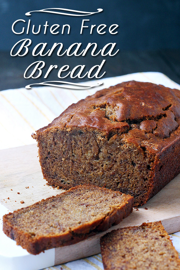 Great last minute gift! Super easy and super tasty Gluten Free Banana Bread. Dairy Free and Vegan, too! | tiaskitchen.com/gluten-free-banana-bread-dairy-free-and-vegan #GlutenFree #vegan #recipe