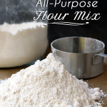 Great last minute gift! Oh-so-easy to make-ahead and use anytime gluten free all-purpose flour mix. | tiaskitchen.com/gluten-free-flour-mix-recipe