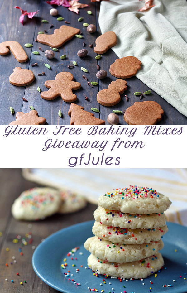 Fabulous giveaway of gluten free baking mixes from gfJules. Enter now! | tiaskitchen.com/real-jules-real-good-giveaway #giveaway #glutenfree