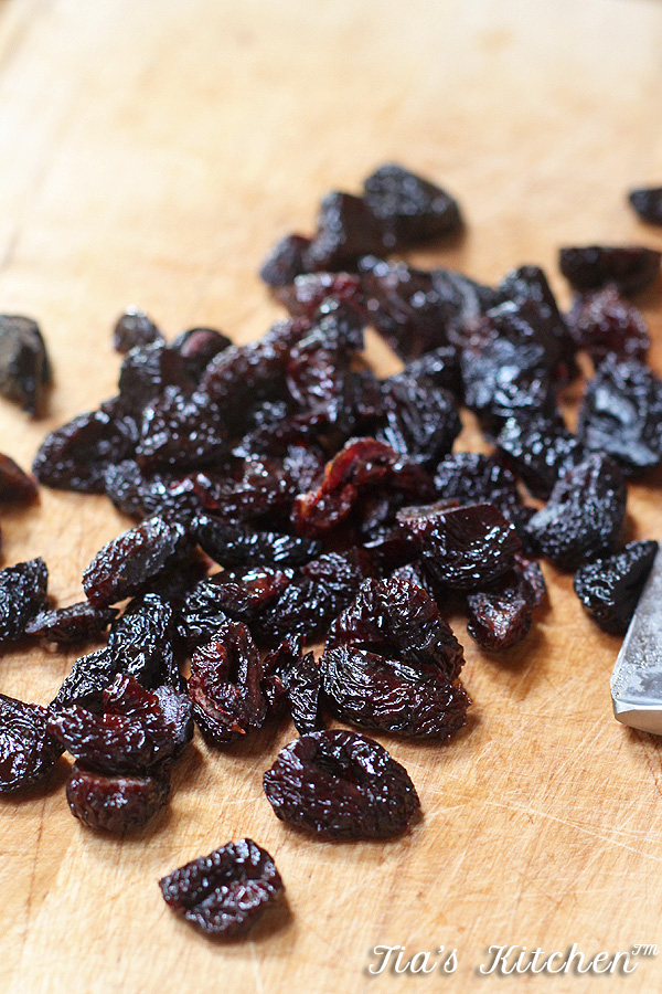 Can't eat just one of these awesome chocolate clusters. Super easy to make and super easy to eat. These Cherry Almond Clusters are dairy-free and vegan, too. | tiaskitchen.com/cherry-almond-clusters-dairy-free-vegan-gluten-free