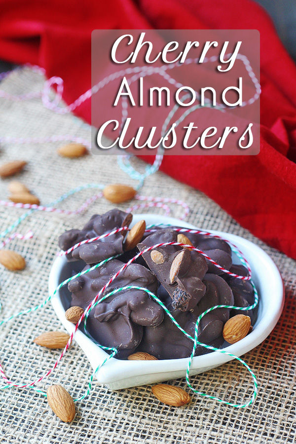 Can't eat just one of these awesome chocolate clusters. Super easy to make and super easy to eat. These Cherry Almond Clusters are dairy-free and vegan, too.   tiaskitchen.com/cherry-almond-clusters-dairy-free-vegan-gluten-free