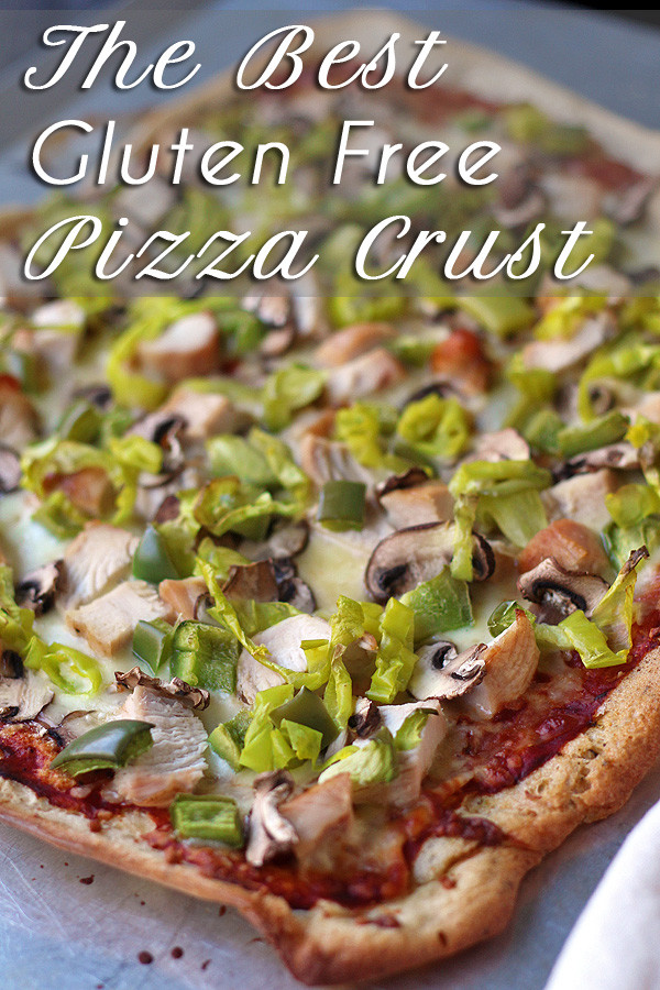 pizza with chicken, pepperoncinis, mushrooms and green peppers.