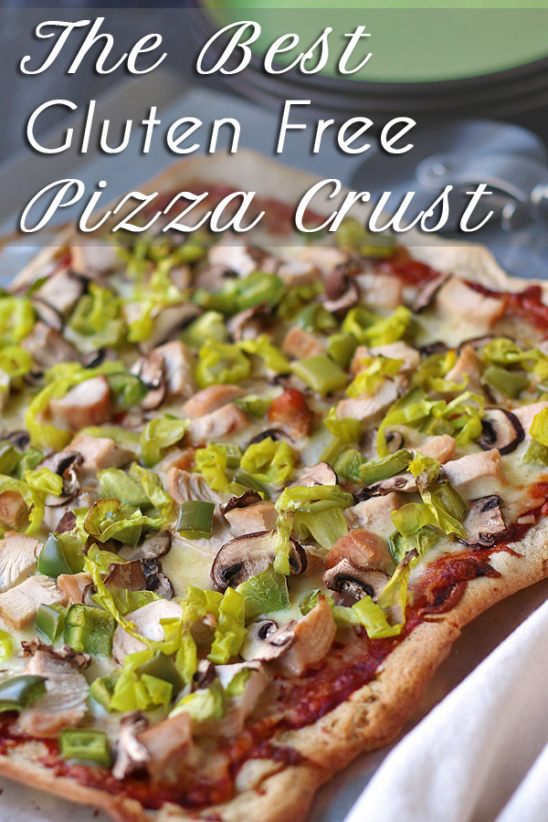 The BEST gluten free pizza crust is so easy to make. Even gluten eaters think this is the best pizza crust you can make at home.  | tiaskitchen.com/the-best-gluten-free-pizza-crust