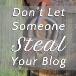 Don't Let Someone Steal Your Blog. Tips, a great plugin and cautionary tales. Very important if you have your own blog. Click thru to read. | tiaskitchen.com/dont-let-someone-steal-your-blog
